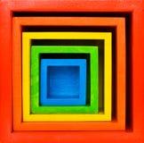 квадратная цель Стоковое Фото