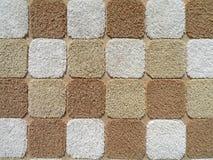 квадратное полотенце текстуры Стоковые Изображения