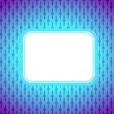 Квадратное художническое знамя иллюстрация вектора