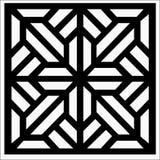 Квадратный орнамент иллюстрация вектора