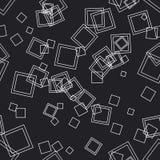квадраты предпосылки безшовные Стоковая Фотография