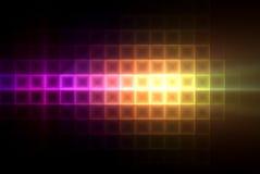 квадраты предпосылки цветастые светлые Стоковые Фото