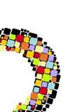 квадраты цвета предпосылки Стоковая Фотография RF
