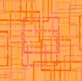 квадраты grunge цветов wallpaper теплое Стоковая Фотография RF