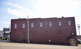 Квадрат Браунсвилла Теннесси исторический стоковая фотография