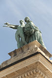 квадрат Венгрии s героя budapest Стоковые Фото