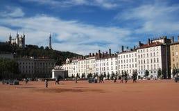 Квадрат в Лионе стоковые фото