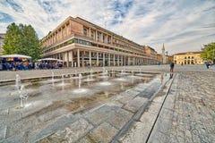Квадрат в Reggio Emilia стоковое фото