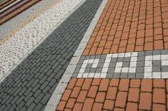 квадрат города Стоковая Фотография