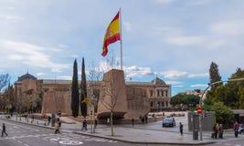 Квадрат двоеточия в Мадриде стоковое фото rf