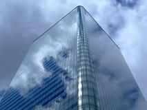 квадрат дела здания Стоковая Фотография