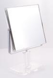 квадрат зеркала крома Стоковые Фото