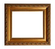 квадрат золота рамки старый стоковое фото rf