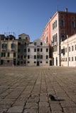 Квадрат или площадь открытого города стоковое фото