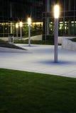 квадрат кампуса стоковое изображение