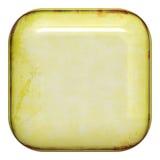квадрат кнопки Стоковая Фотография RF