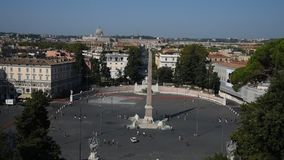 Квадрат людей и квадрат львов в Риме акции видеоматериалы