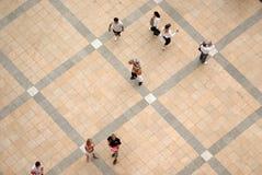 квадрат людей Стоковое Изображение RF