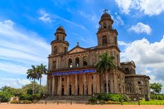 Квадрат Манагуа Никарагуа Revolucion Стоковое фото RF