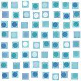 квадрат многоточия предпосылки Стоковая Фотография
