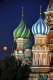 Квадрат Москва красный Стоковые Фотографии RF