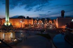 Квадрат независимости Kyiv Стоковое Фото