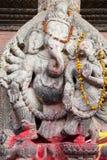 квадрат Непала божества durbar индусский patan стоковые фотографии rf