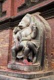 квадрат Непала божества durbar индусский patan стоковая фотография