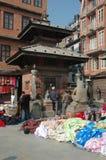 квадрат Непала durbar рынка kathmandu старый Стоковая Фотография