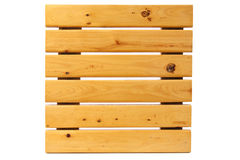 квадрат ноги падения деревянный Стоковые Изображения