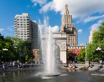 Квадрат Нью-Йорка - Вашингтона стоковое фото