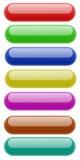 квадрат округленный кнопкой иллюстрация вектора