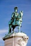 квадрат памятника короля коммерции i jose Стоковая Фотография