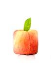 квадрат персика Стоковые Изображения RF