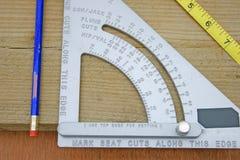 квадрат плотников Стоковые Изображения RF