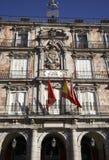 квадрат площади мэра madrid дома хлебопекарни Стоковые Фото