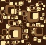 квадрат предпосылки коричневый Иллюстрация штока