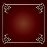 квадрат рамки конструкции шикарный Стоковое Изображение RF
