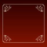 квадрат рамки конструкции шикарный Стоковое Изображение
