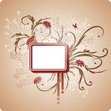 квадрат рамки листва иллюстрация вектора