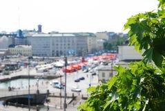 квадрат рынка helsinki стоковая фотография rf
