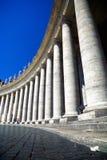 квадрат святой Италии peter rome колоннады Стоковая Фотография