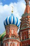 квадрат святой собора базилика красный Стоковое Фото