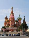 квадрат собора красный Стоковая Фотография RF