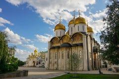Квадрат собора Кремля стоковые фото