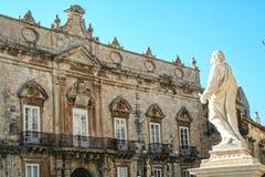 Квадрат собора стоковое фото rf