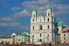 квадрат собора Стоковые Фотографии RF