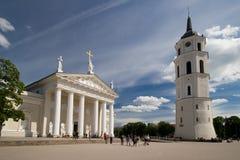 квадрат собора Стоковые Изображения