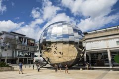 Квадрат тысячелетия в Бристоле стоковое фото rf