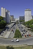 Квадрат флага - São Paulo - Бразилия Стоковое Изображение